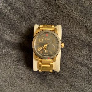Men's Nixon gold watch - custom